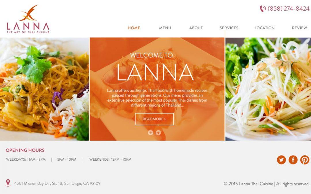 Уеб сайт за ресторанти и кафета