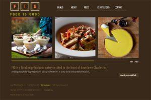 уебсайт за ресторант кафяво