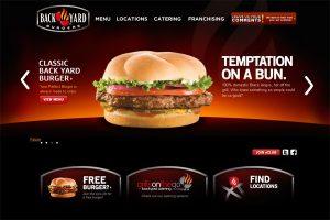 уеб сайт за ресторант червено