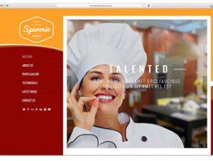 Сайт за ресторант, кафене, пицария