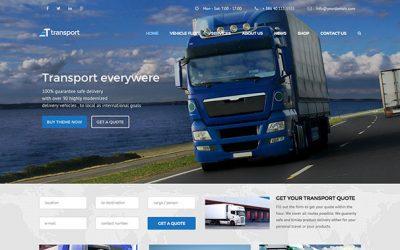 Уеб сайт за Транспорт, Логистика и Спедиция