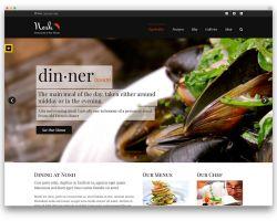 Тема за уеб сайт за ресторант