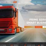 Тема за уеб сайт за транспорт и логистика